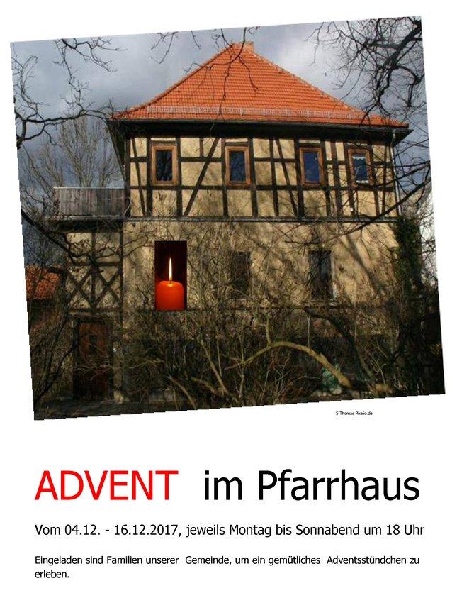Advent im Pfarrhaus 2017