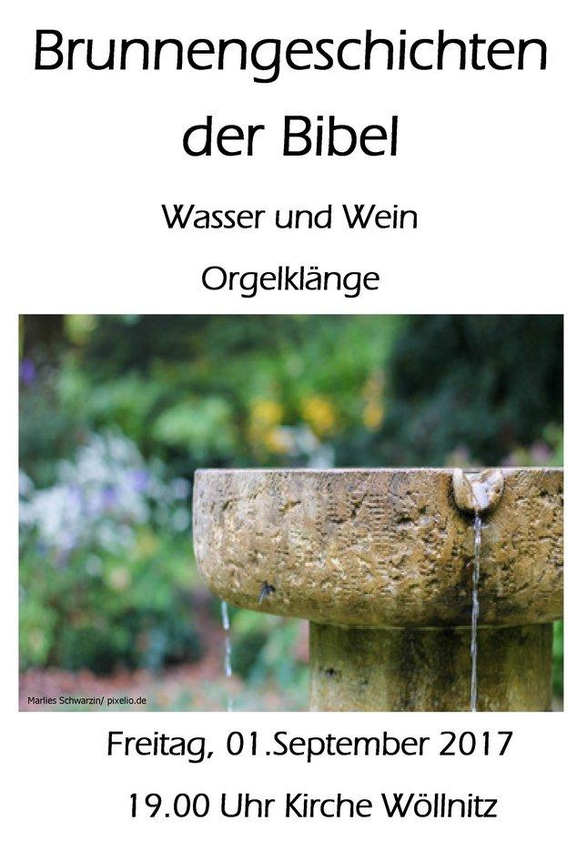 Brunnengeschichten der Bibel