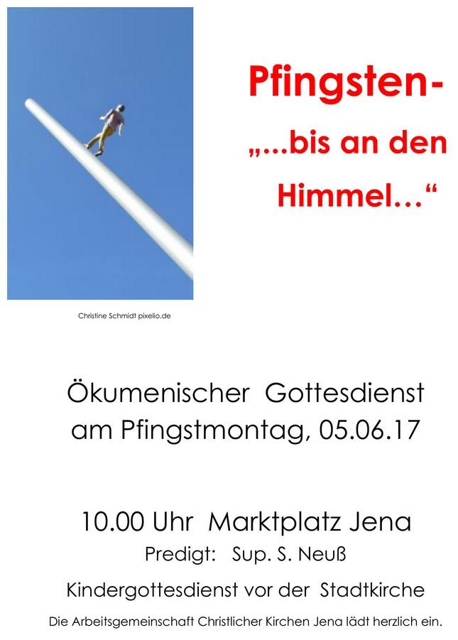 Pfingsten 2017 Plakat