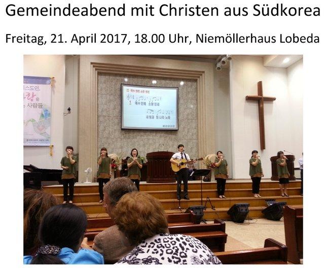 Plakat Christen Südkorea 21_04_17 bild