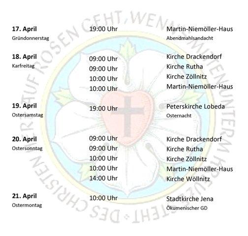 Martin Niemöller Haus: Gottesdienste Vor Und Zu Ostern 2014